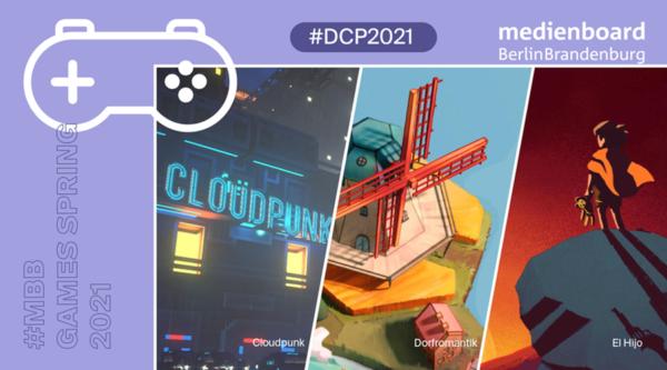 Preise für Medienboard-geförderte Spiele beim Deutschen Computerspielpreis 2021