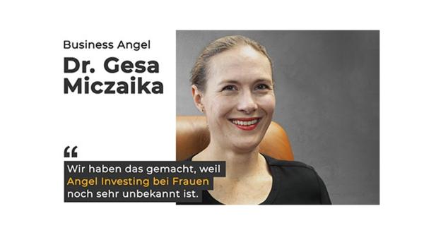 Eventkalender: Wie werde ich Startup-Investorin? Learning-Event mit Dr. Gesa Miczaika