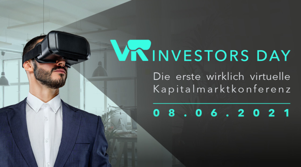 Die erste wirklich virtuelle VR-Kapitalmarktkonferenz