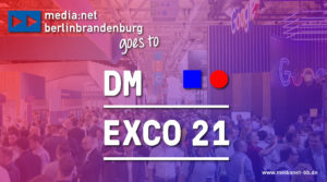 Call for Companies: Digital Berlin-Brandenburg booth at DMEXCO @home 2021