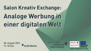 Salon Kreativ Exchange: Analog advertising in a digital world