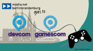 Call for Companies: Digitaler Berlin-Brandenburg-Gemeinschaftsstand auf der gamescom/devcom 2021
