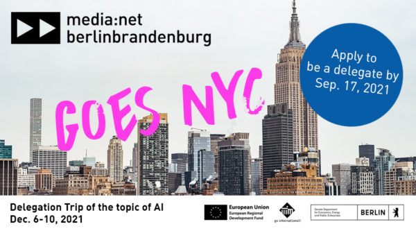 media:net goes NYC: Delegation trip on the topic of AI