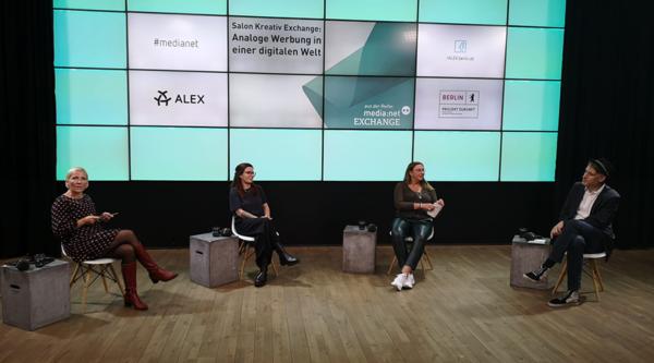 Salon Kreativ Exchange: Analoge Werbung in einer digitalen Welt