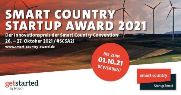 Smart Country Startup Award – Jetzt bewerben!