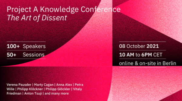 Eventkalender: Project A Knowledge Conference 2021