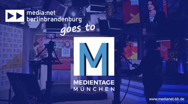 Call for Companies: Hybrider Berlin-Brandenburg-Gemeinschaftsstand auf den Medientagen München 2021